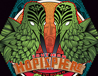 Arcade Brewery Beer Label - Southern Hopisphere