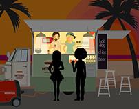 illustrazioni per video uso generatore honda eu30i