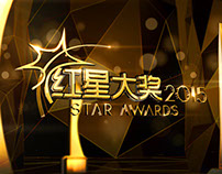 Channel 8 Star Awards 红星大奖 2015 Graphics Package