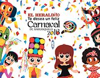 Ilustraciones Carnaval 2016