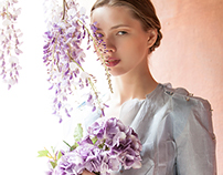 Floral Romance-Cover and Editorial for Look2Impress#15