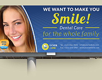 Dental Clinic Billboard Template