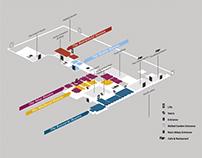 Delapre Abbey Wayfinding Maps