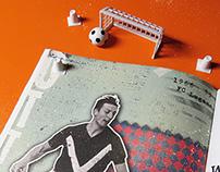 Illustration For Football Magazine - ZWÖLF