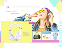 E-commerce Web banner