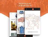 Redesign Leboncoin