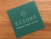 Branding for Sezono, a seasonal restaurant and market