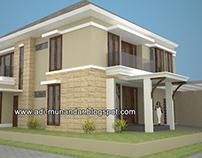 Desain Rumah Dokter & Klinik di Margorejo Surabaya