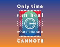 Only time can heal what reason cannot