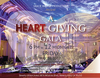 Heart Giving Gala invite&sponsorship deck