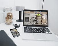 Vintage Bike Concept   Website