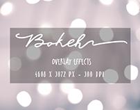 FREEBIE - bokeh overlay effects