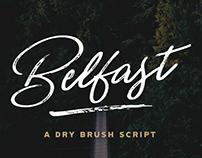Belfast - A Dry Brush Script