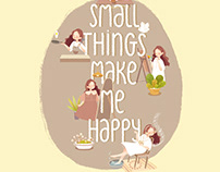 Small Things Make Me Happy / Thanh Binh