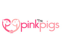 The Pink Pigs Logo Brand Identity redesign