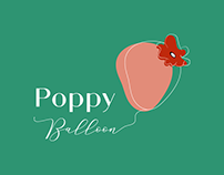 Logo - Poppy Balloon