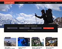 Let's Get Lost - Webpage for Adventure travelers.