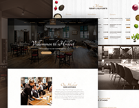 Restaurant Website UI/UX Design