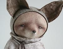art doll fox Mikael