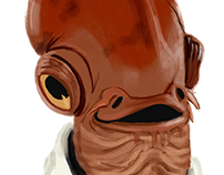 StarWars Illustrations - Ackbar