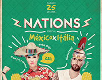 Nations #1 | México x Itália