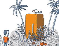 illustrations pour Défis Sud 136