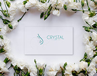 Business Card for Cosmetic Clinic CRYSTAL