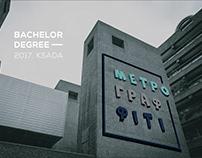 METRO GRAFFITI. Diploma work. Bachelor. KSADA. 2017