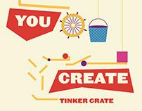 Tinker Crate 2d - 3d Poster