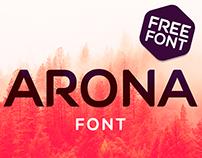 ARONA ( FREE FONT )