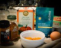 Gluten & Dairy Free Pumpkin Spice Protein Snack Cake