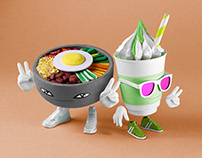 DOPE LOL - Korea inspired Characters