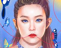 Celebrity Portraits- Yu-Ming Huang Illustration