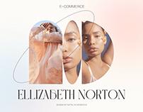 ELLIZABETH NORTON FASHION DESIGNER E-COMMERCE CONCEPT