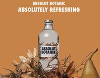 Translucent Bottle Brief - Absolut botanic