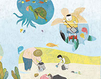南一 海洋小尖兵/Illustration