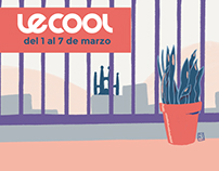 Lecool Magazine Covers