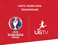EURO2016 Designs for LİG TV