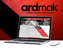 Ardmak Web Arayüz Tasarımı'2015