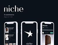 Niche-E-commerce App