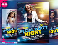 Night Party Flyer Free Download