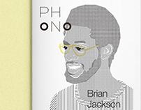 rso196, phono (logotype, editorial design)