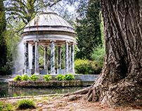 The gardens of Aranjuez photographs