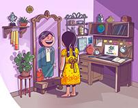 Webpage Illustration
