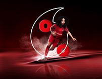 Vodafone - %100 eşitlik için #BenVarım