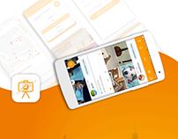 Travel Social Network App For Android (FlightPic)
