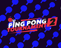 Ping Pong Tournament - Title Sequence