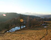 Styczeń. Góry Sowie. Walim. Dolny Śląsk. 2011 //