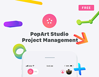 PopArt Client Management Mobile App