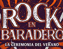 Rock en baradero Identity & branding